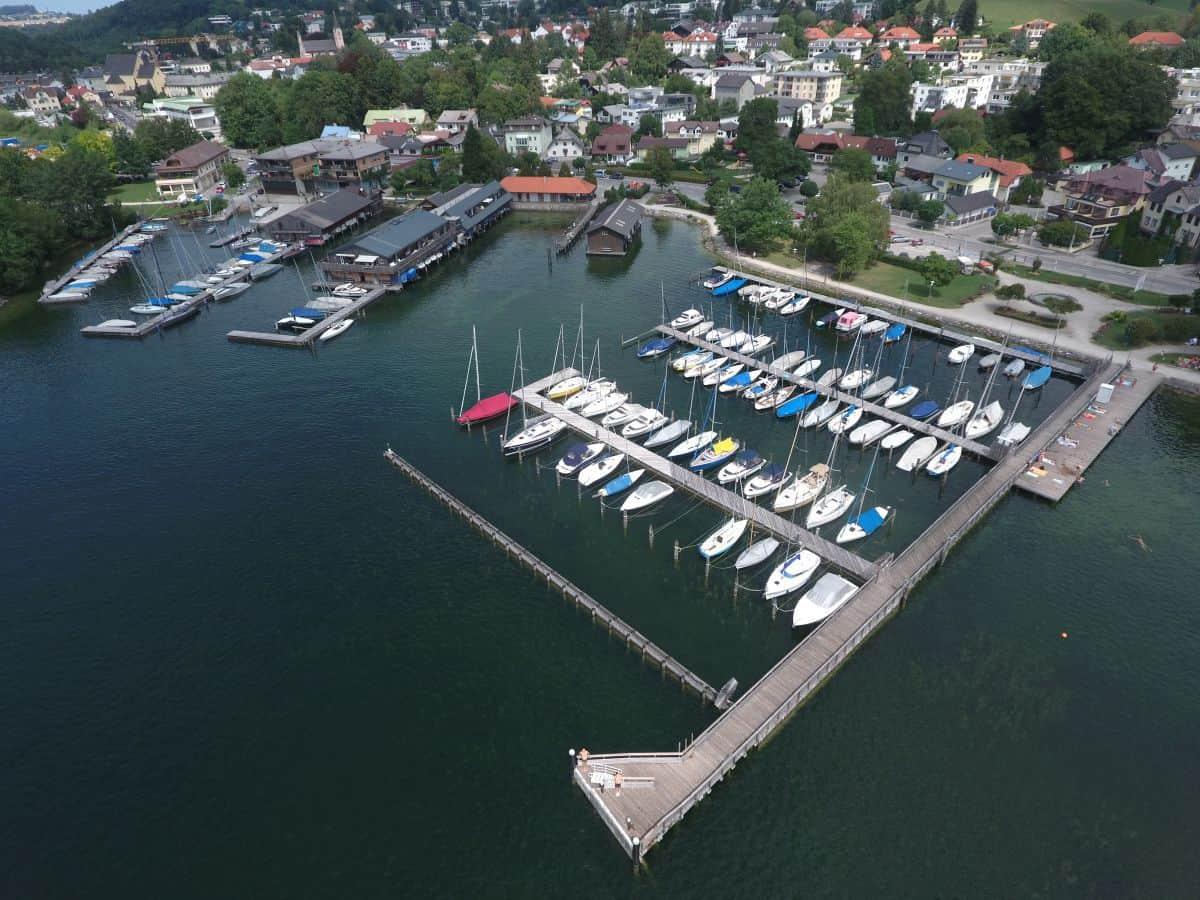 Frauscher Hafen Liegeplatz