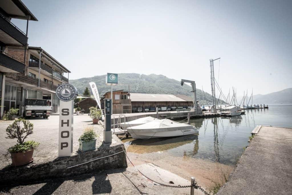 Hafenanlage Gmunden - Frauscherhafen